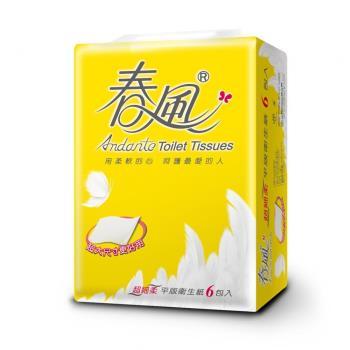 春風 _平版衛生紙 400張(6包*8袋/箱)