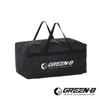 GREEN ^#45 B 100L大容量戶外露營裝備收納包 旅行袋 黑色