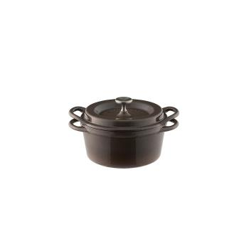 日本Vermicular琺瑯鑄鐵鍋14cm(珍珠棕)VPOT14-BN