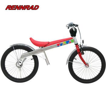 RENNRAD 鋁合金變形滑步車/腳踏車兩用童車18吋_紅