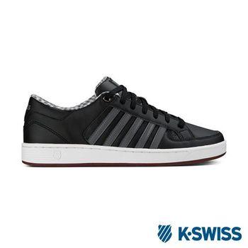 K-Swiss Barnwell S CMF經典休閒鞋-男-黑/炭灰