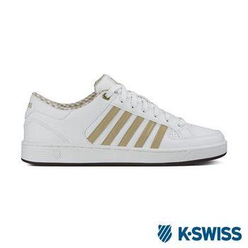 K-Swiss Barnwell S CMF經典休閒鞋-男-白/卡其