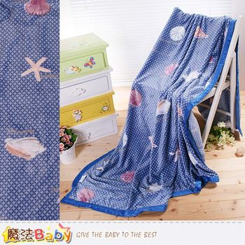 魔法Baby法蘭絨毛毯 150x200cm包邊款 四季毛毯 w63027