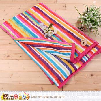 魔法Baby法蘭絨毛毯 150x200cm包邊款 四季毛毯 w63026