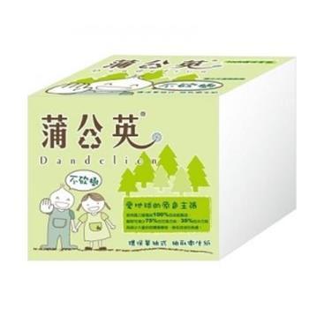 蒲公英單抽式衛生紙(250抽*48包/箱)