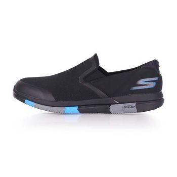 【SKECHERS】GO FLEX 男休閒健走鞋- 走路鞋 黑藍