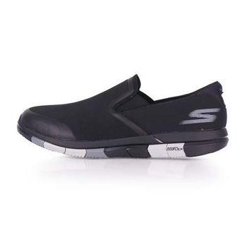 【SKECHERS】GO FLEX 男休閒健走鞋- 走路鞋 黑灰