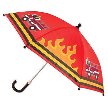 【Stephen Joseph】兒童造型雨傘(消防車)