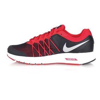 【NIKE】AIR RELENTLESS 6 MSL男慢跑鞋- 路跑 氣墊 黑紅