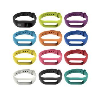 小米手環2代 彩色腕帶 替換帶 (副廠) 加贈保護貼乙入