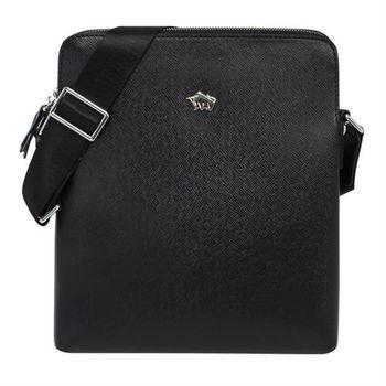 【DRAKA達卡】斜背包/側背包/肩背包 男士商務系列-直式紳士包包(44DK74187-5)