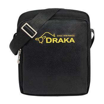 DRAKA 達卡 - 斜背包側背包肩背包 商務防潑水系列 都會簡約直式隨身包