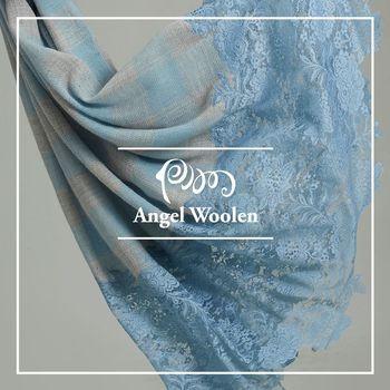 【ANGEL WOOLEN】格情雅韻Pashmina印度手工蕾絲披肩 圍巾(共三色)