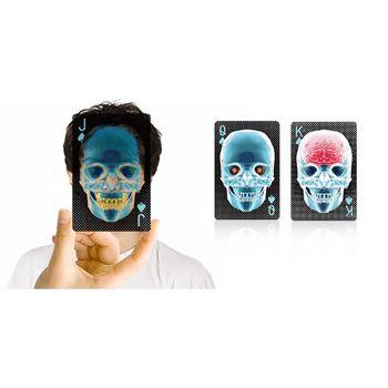 賽先生科學工廠|X-Ray透明骷髏撲克牌