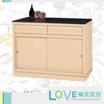 【LOVE樂芙】歐黛莎白橡4尺石面餐櫃
