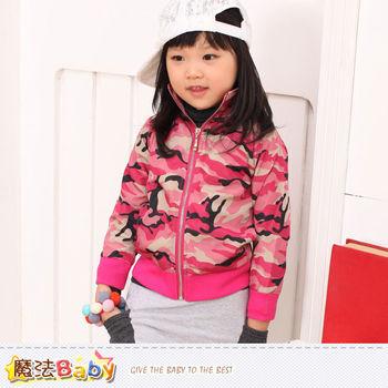 女童外套 專櫃品牌流行童裝 秋冬外套 魔法Baby~k36923