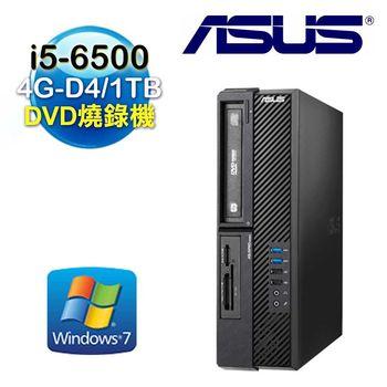 ASUS 華碩 D820SF Intel i5-6500四核 4G-D4記憶體 Win7 Pro電腦 (D820SF-I5650V0364)