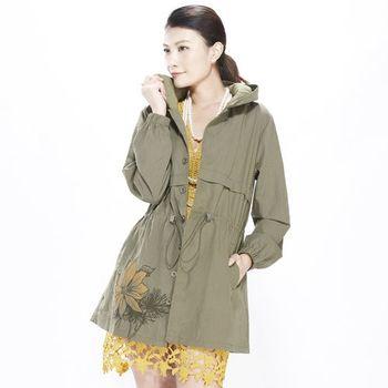 蘭陵獨家設計款修身百搭長外套