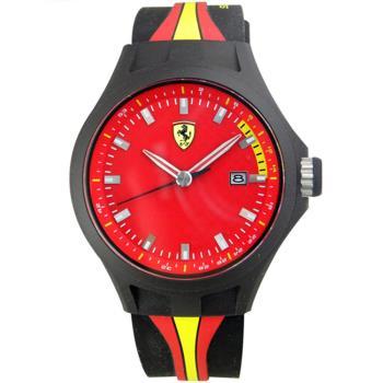 法拉利 Scuderia Ferrari F1賽車錶盤設計男用腕錶/44mm/FA0830009