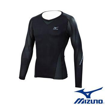 【Mizuno 美津濃】   BG7000T 支撐型緊身衣 K2MJ6B6190 (黑)