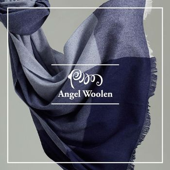 【ANGEL WOOLEN】極簡美學100%Cashmere羊絨披肩 圍巾(共四色)