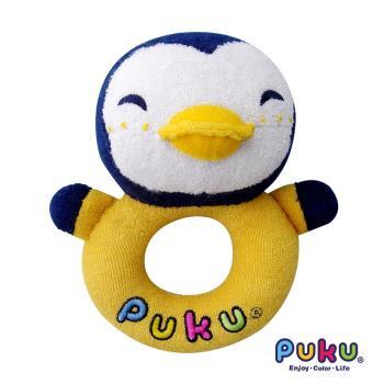 PUKU藍色企鵝 - 企鵝環狀手搖鈴
