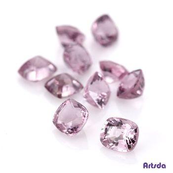 Artsda 粉紅尖晶石十顆(天然尖晶石,裸石系列#04)