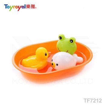 日本《樂雅 Toyroyal》快樂洗澡組(小)