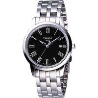 TISSOT CLASSIC DREAM 鋼帶腕錶~黑 T0334101105301
