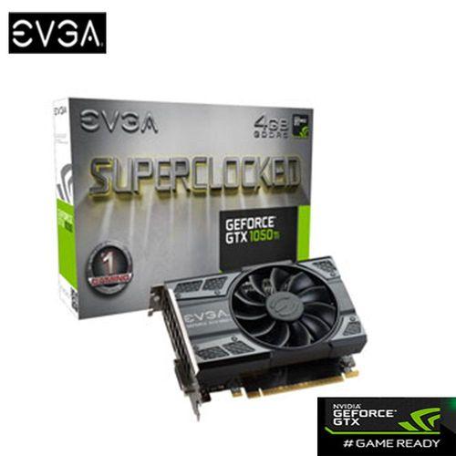EVGA 艾維克 GTX1050 Ti 4GB SC GAMING ACX2.0 GDDR5 顯示卡 (04G-P4-6253-KR )