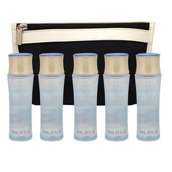 SHISEIDO 莉薇特麗全效化妝水20ml-滋潤100ml超值容量組(贈經典化妝包隨機出貨)