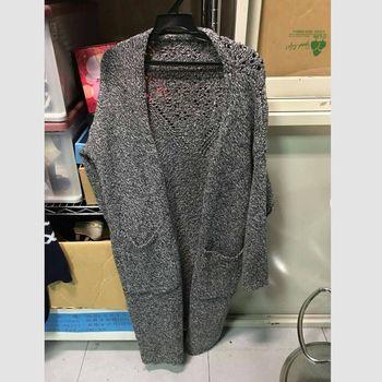 【I*MEI】韓風針織修身長外套