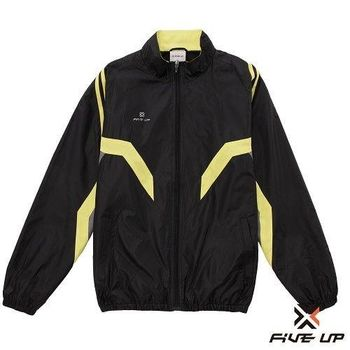 FIVE UP-保暖厚風衣外套-男-黑