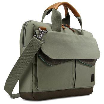 Case Logic凱思-LODO14吋筆電/平板兩用手提側背包LODA-114-綠