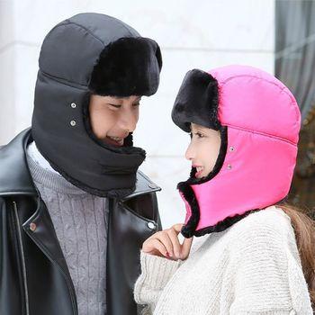 【Verona】韓款冬季男女款護頸防風口罩保暖帽