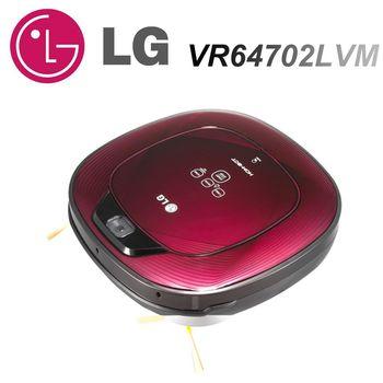 《贈好禮》 【LG樂金】雙眼小精靈 掃地機器人VR64702LVM