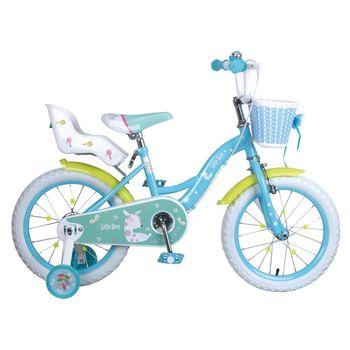 寶貝樂精選 艾比鹿腳踏車16吋充氣胎腳踏車