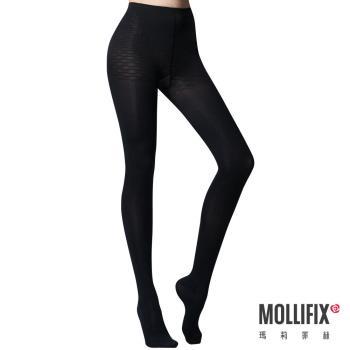 Mollifix瑪莉菲絲 踮腳尖纖腿塑型塑身襪 (黑)