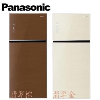 ★加碼贈好禮★Panasonic 國際牌 579公升雙門變頻玻璃無邊框 NR-B588TG