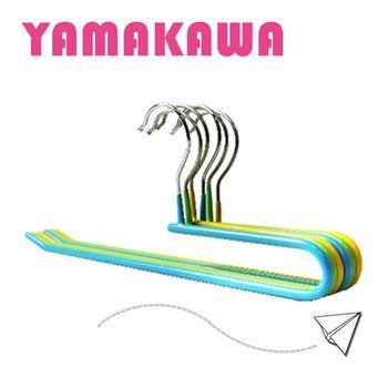 【YamaKawa】繽紛馬卡龍止滑褲架(70入組)