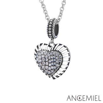 Angemiel安婕米 925純銀項鍊 愛在心中
