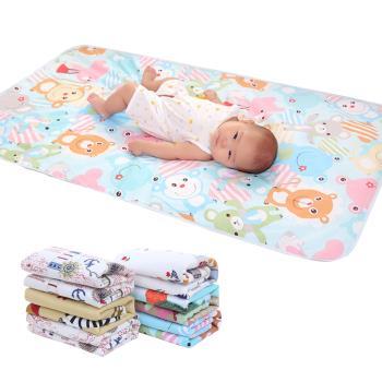 【兩件入】三層嬰兒防水隔尿墊(75*120)