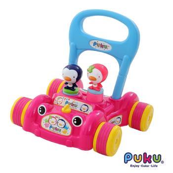 PUKU藍色企鵝 - PUKU助步車(粉色)