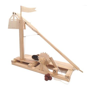 賽先生科學工廠|達文西發明手稿-重錘投石器