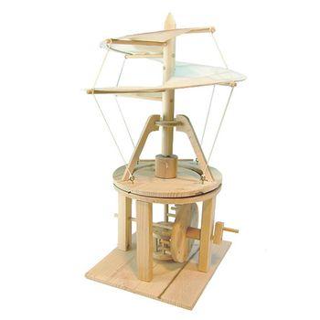 賽先生科學工廠|達文西發明手稿-螺旋直升機
