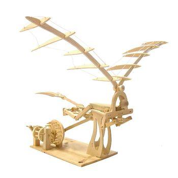 賽先生科學工廠|達文西發明手稿-飛行機器