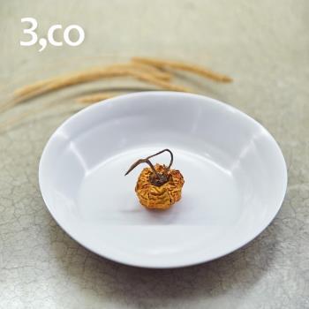 【3,co】水波系列點心盤 - 白