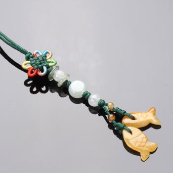 【雅紅珠寶】好事成雙冰種緬甸玉墜子(吊飾/項鍊)