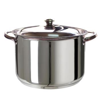 【三零四嚴選】不鏽鋼湯鍋 (26cm/個)