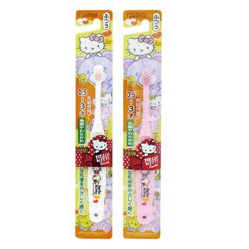 【日本EBISU】★日本EBISU兒童牙刷Hello Kitty 0.5~3歲B-S10 單入★顏色隨機出貨